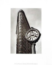 Fifth Avenue Clock poster print by Igor Maloratsky