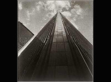 Angled View Twin Towers poster print by Walter Gritsik