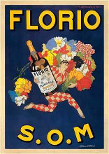 Florio, 1915 poster print by Marcello Dudovich