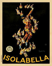 Isolabella, 1910 poster print by Leonetto Cappiello