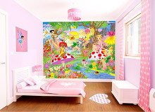 Magical Fairies poster print by  Walltastic