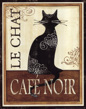 Le Chat poster print