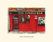 Temple Bar poster print by Ernesto Mayer