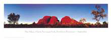 The Olgas poster print by Phil Gray