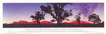 Wilpena Pound poster print by Phil Gray